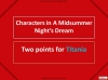 House of Games - A Midsummer Night's Dream Teaching Resources (slide 93/126)