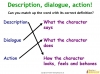 How to write about fictional characters (slide 8/13)