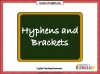 Hyphens and Brackets (slide 1/10)
