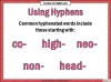 Hyphens and Brackets (slide 4/10)