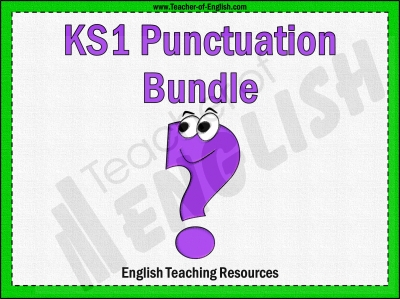 KS1 Punctuation Bundle