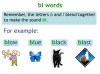 KS1 Reading and Blending Letters and Sounds (slide 13/43)