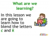 KS1 Reading and Blending Letters and Sounds (slide 15/43)
