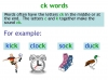 KS1 Reading and Blending Letters and Sounds (slide 16/43)