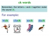 KS1 Reading and Blending Letters and Sounds (slide 19/43)