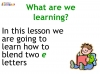 KS1 Reading and Blending Letters and Sounds (slide 27/43)