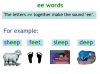 KS1 Reading and Blending Letters and Sounds (slide 28/43)