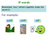 KS1 Reading and Blending Letters and Sounds (slide 37/43)
