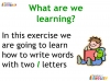 KS1 Reading and Blending Letters and Sounds (slide 39/43)