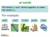 KS1 Reading and Blending Letters and Sounds (slide 4/43)