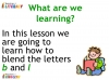 KS1 Reading and Blending Letters and Sounds (slide 9/43)
