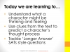 KS2 SATs English Reading - Thoughts and Feelings Teaching Resources (slide 3/28)