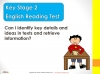 KS2 SATs English Reading Information Retrieval Teaching Resources (slide 2/40)