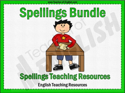 KS2 Spellings Bundle