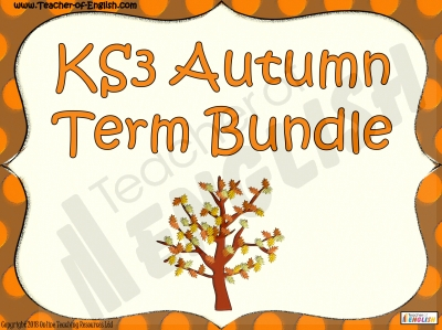 KS3 Autumn Bundle 1