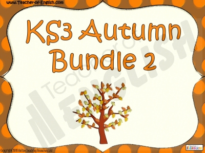 KS3 Autumn Bundle 2