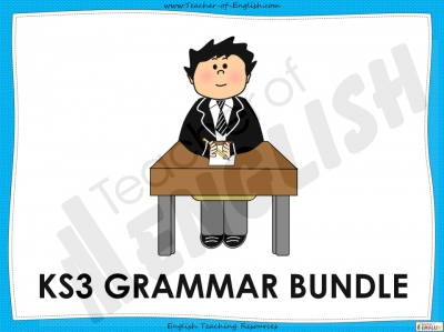 KS3 Grammar Bundle