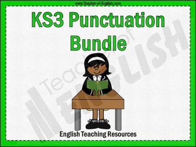 KS3 Punctuation Bundle