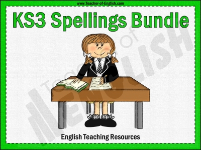 KS3 Spellings Bundle