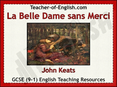La Belle Dame sans Merci Teaching Resources