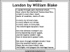 London by William Blake Teaching Resources (slide 23/55)