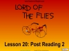 Lord of the Flies (slide 183/187)