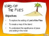 Lord of the Flies (slide 20/187)