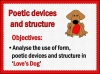 Love's Dog Teaching Resources (slide 21/40)