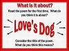 Love's Dog Teaching Resources (slide 6/40)