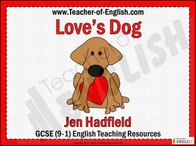Love's Dog Teaching Resources