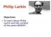 MCMXIV (Philip Larkin) (slide 4/39)