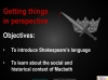 Macbeth (sample) Teaching Resources (slide 15/25)