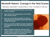Macbeth - Courage Teaching Resources (slide 10/15)