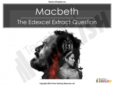 Macbeth - Edexcel GCSE Extract Question