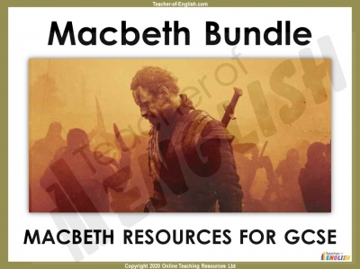 Macbeth - GCSE Bundle