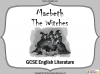 Macbeth - The Witches