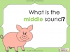 Middle Sounds (slide 3/36)