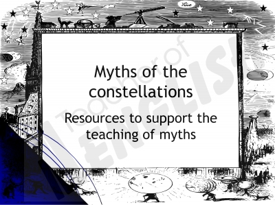 Myths of the Constellations Teaching Resources