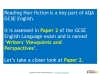 NEW AQA GCSE English (9-1) Reading Non-fiction Texts Teaching Resources (slide 2/95)