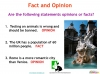 NEW AQA GCSE English (9-1) Reading Non-fiction Texts Teaching Resources (slide 34/95)