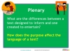 NEW Edexcel GCSE English (9-1) Reading Non-fiction Texts (slide 28/94)