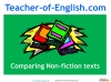 NEW Edexcel GCSE English (9-1) Reading Non-fiction Texts (slide 82/94)