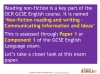 NEW OCR GCSE English (9-1) Reading Non-fiction Texts (slide 86/95)