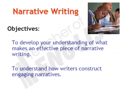 Writing Narrative Texts PowerPoint - Year 3 and Year 4 Teaching ...