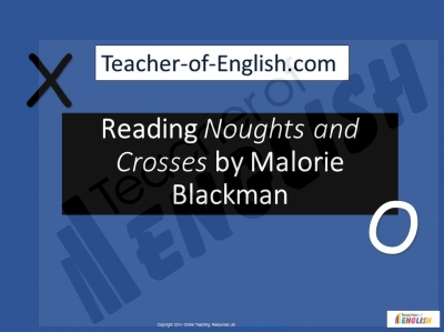 Noughts and Crosses by Malorie Blackman Teaching Resources