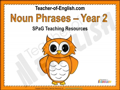Noun Phrases Teaching Resources