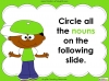 Nouns - Year 1 Teaching Resources (slide 16/29)
