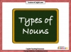 Nouns Teaching Resources (slide 1/13)