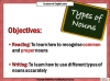 Nouns Teaching Resources (slide 2/13)