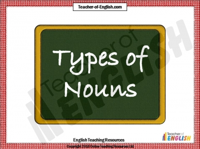Nouns Teaching Resources